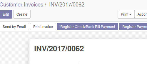 payment check